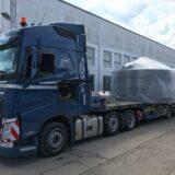 Transport für den Neubau einer Brauerei im fernen Australien